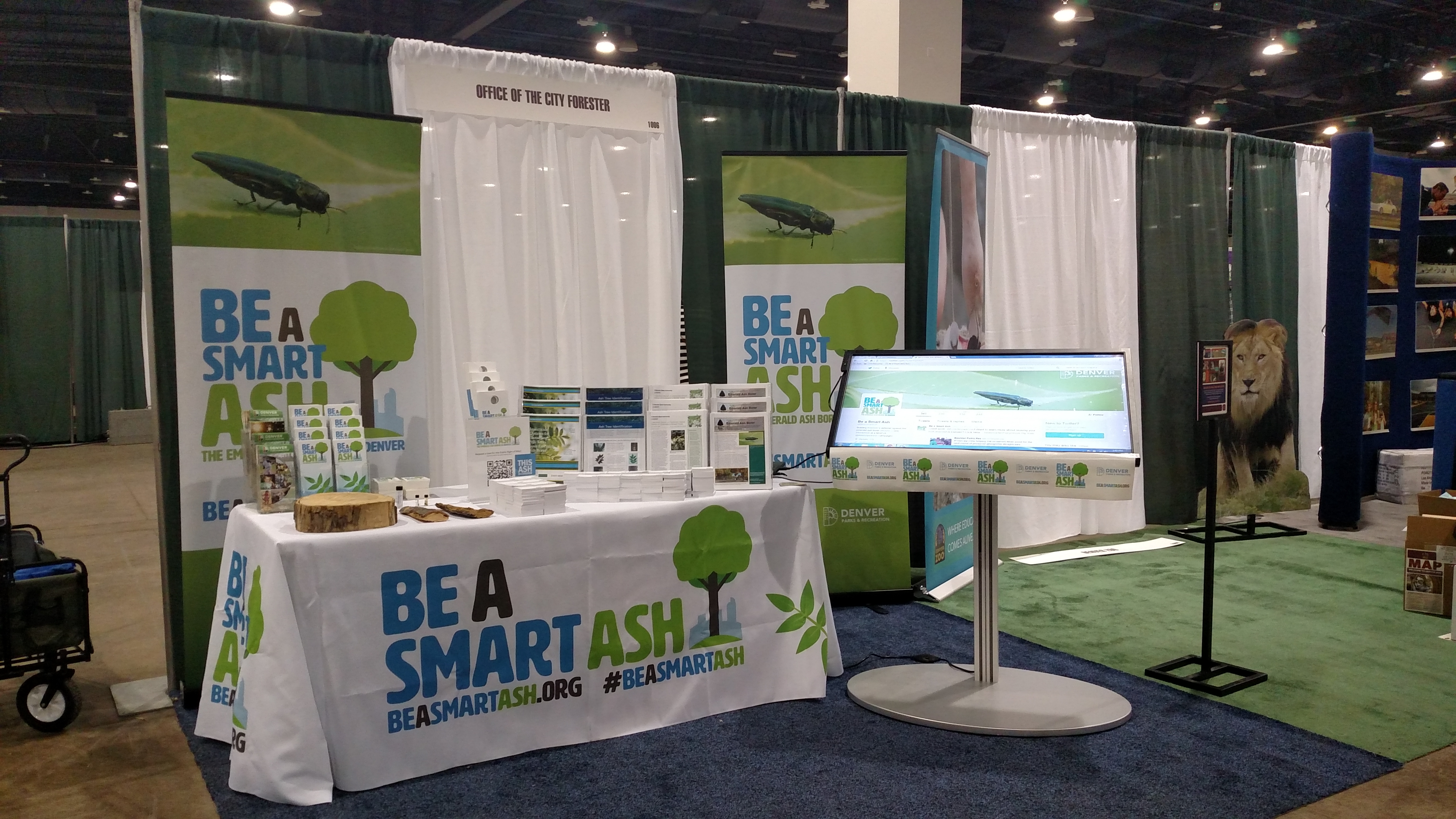 Stop By The Be A Smart Ash Booth At The Colorado Garden & Home Show From Feb. 4-12 At The Colorado Convention Center In Denver.